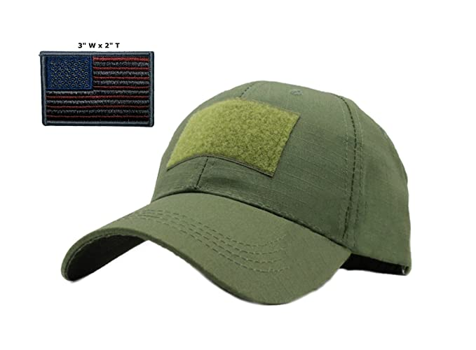 Amazon.com  Elite Gear Flag Bearer Cap Bundle - USA Flag Subdued - 3 ... 18c9ffb887b