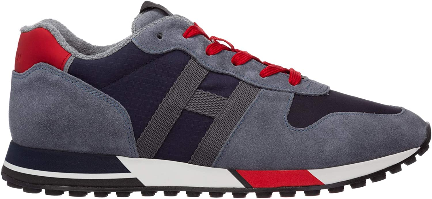 .Hogan Men H383 Sneakers Blu