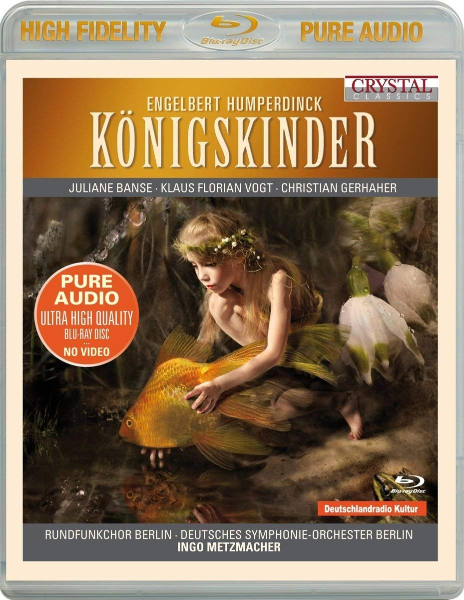 Blu-ray Audio : HUMPERDINCK / RUNDFUNKCHOR BERLIN - Konigkinder (Blu-ray Audio)
