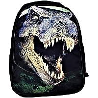Dinosaur T-Rex School Backpack 3D Print Boys' Kids' Travel Bag Adjustable Straps KT00063