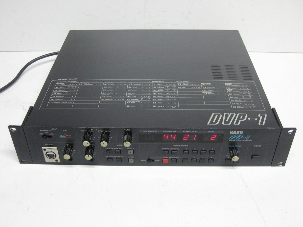 KORG DVP-1 Digital voice processor