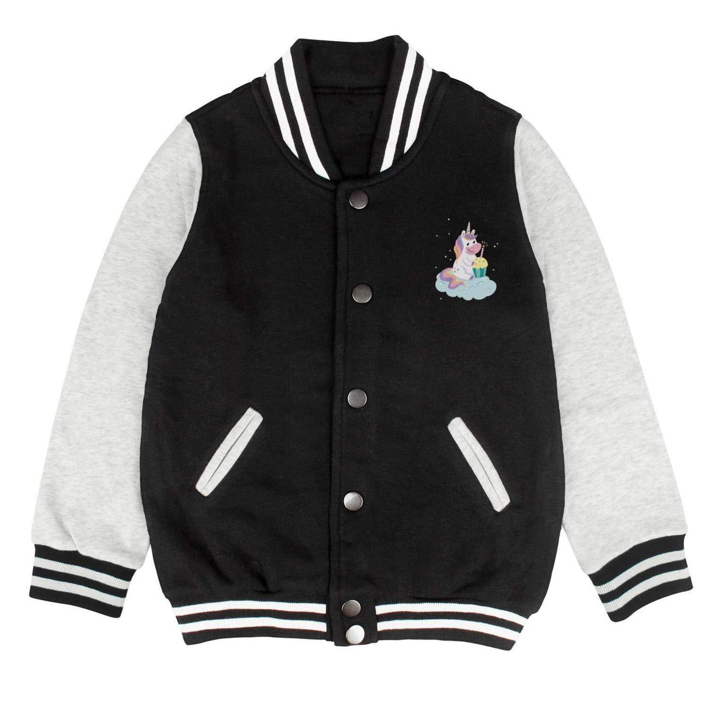 Cool Personalized Customized Sports Baseball Jacket for Boys Girls Unicorn 12