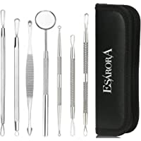 Esarora Blackhead Remover, Pimple Remover Set Of 7 Professional Pimple Exctractor Tools More Easy To Remove Blackhead Acne Pimple And Facial Blemish (Style2)