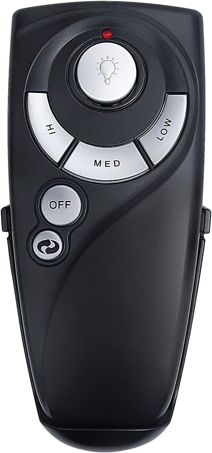 Eogifee UC7083T Ceiling Fan Remote Control Replacement of Hampton Bay with Reverse Button with Wall Mount Only Remote