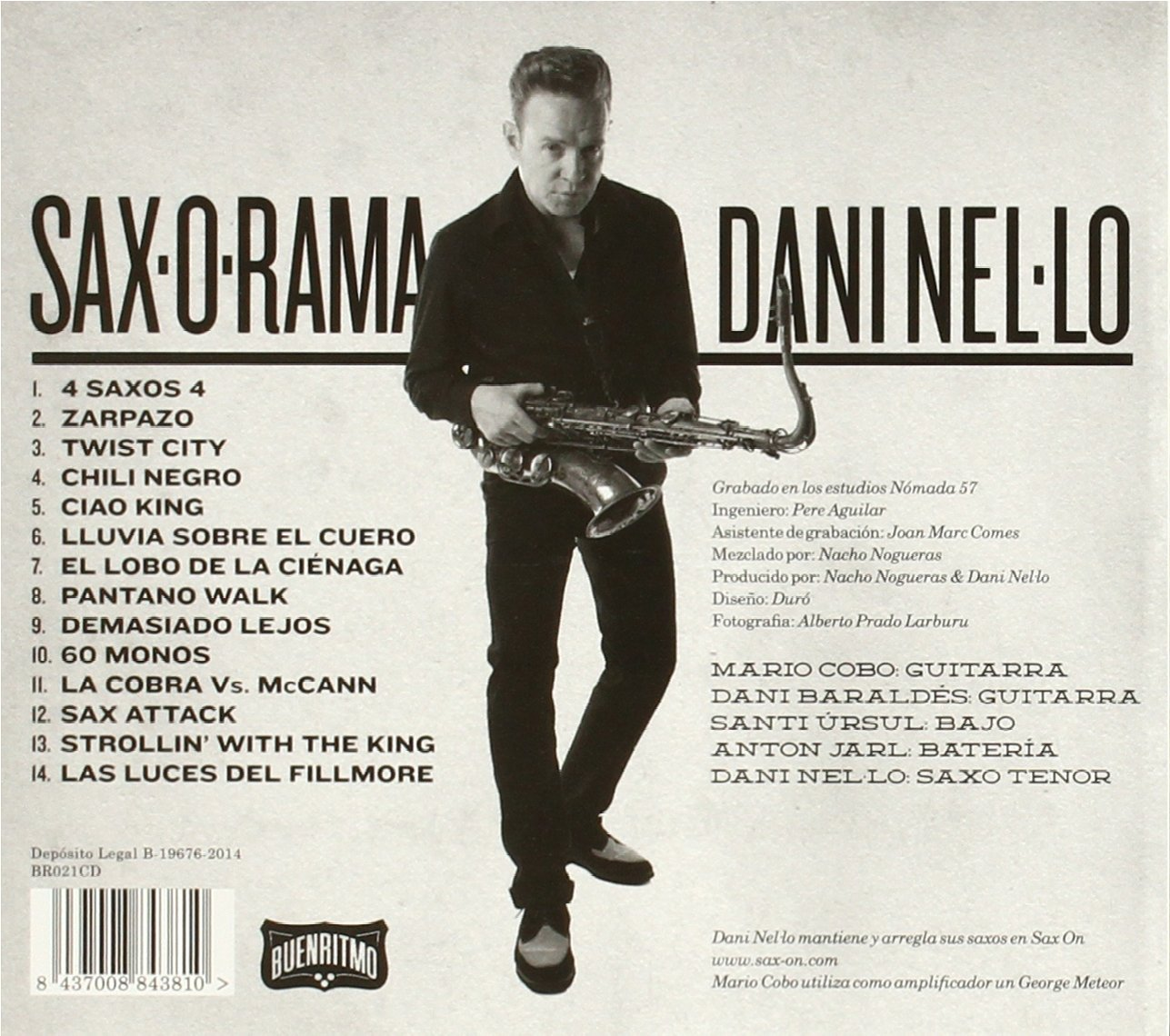 - DANI NEL.LO - SAX-O-RAMA - Amazon.com Music