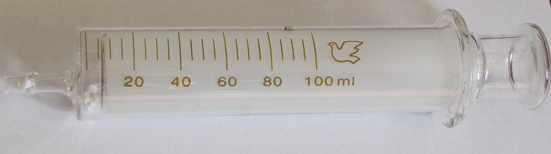 100 Ml/cc Glass Syringe, Non-sterile
