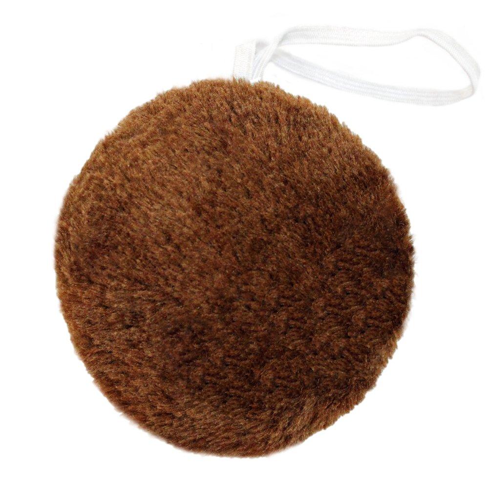 SeasonsTrading Round Brown Plush Animal Tail ~ Halloween Bear Costume Dress Up