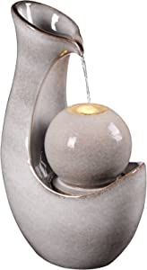 Kenroy Home 51098IV Maria Fountains, Ivory Glaze