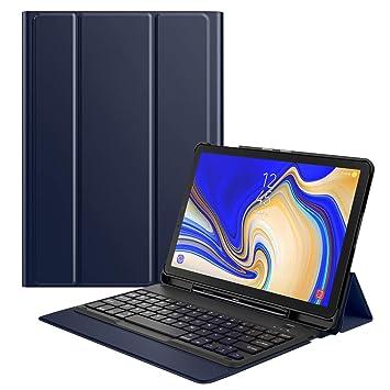 MoKo Funda para Samsung Galaxy Tab S4 10.5 Teclado, Cubierta con Soporte para S Pen, Protector de Teclado Inalámbrico para Galaxy Tab S4 10.5 Inch ...