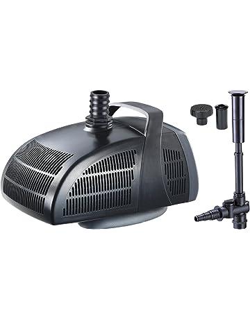 Jebao PF3000 - Bomba de agua para estanque (accesorios de fuente, 3,000 l/