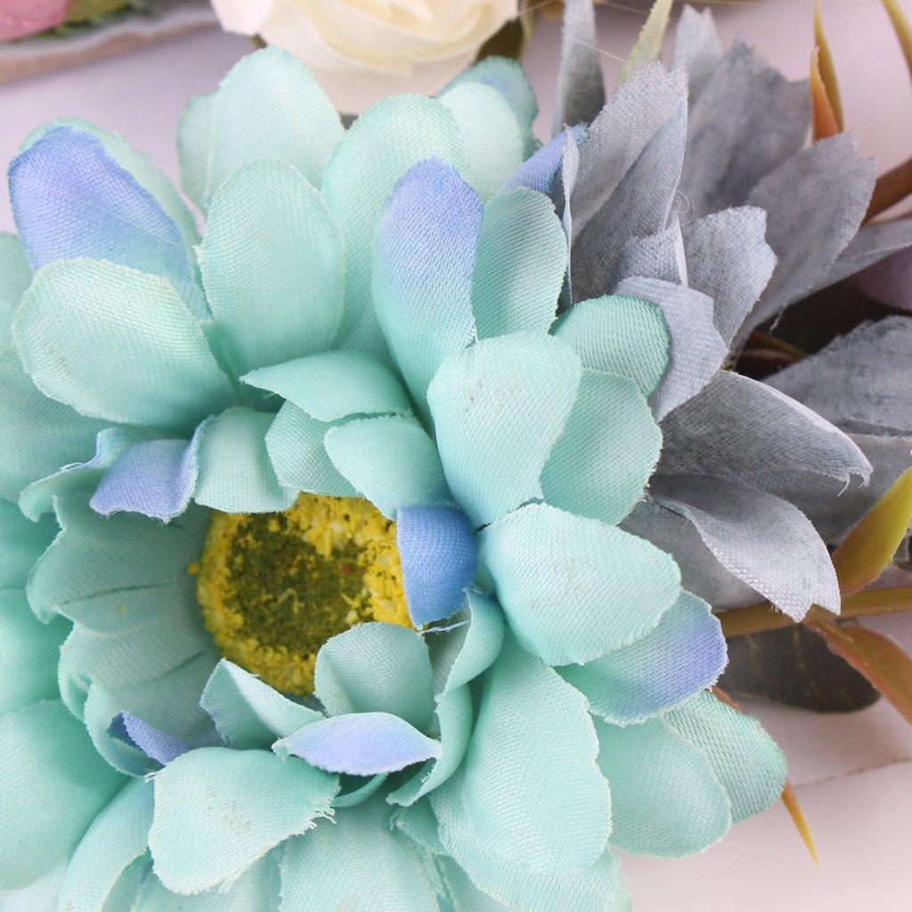 MagiDeal 3 St/ück Niedlich Blumen Baby M/ädchen Haarband //Stirnband Fotografie wie beschreiben Stil 1