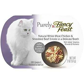 Amazon.com: Alimentos naturales para gato Purina Purely ...
