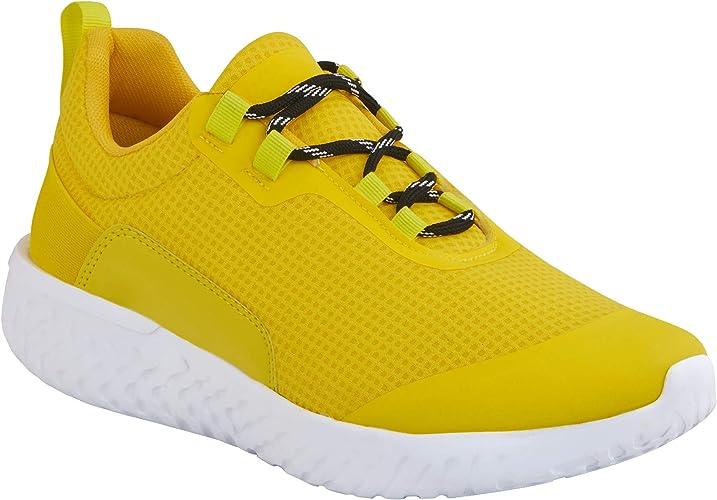 cklass Tenis Deportivo Hombre Amarillo Forro Textil: Amazon.com.mx: Ropa, Zapatos y Accesorios