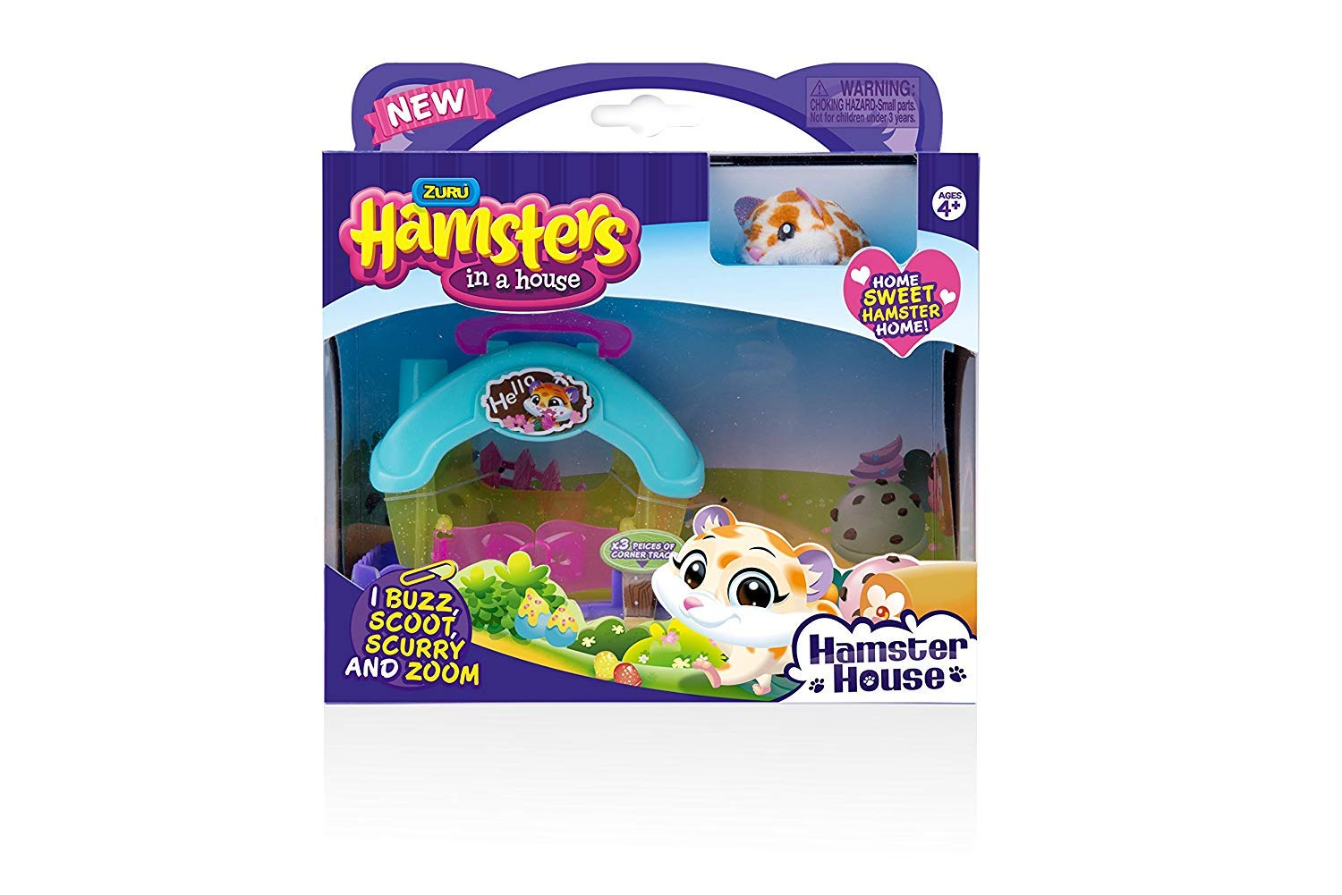 Hamsters in a House Snack Shack