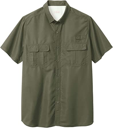 Boulder Creek by Kingsize Mens Big /& Tall Short Sleeve Pilot Shirt