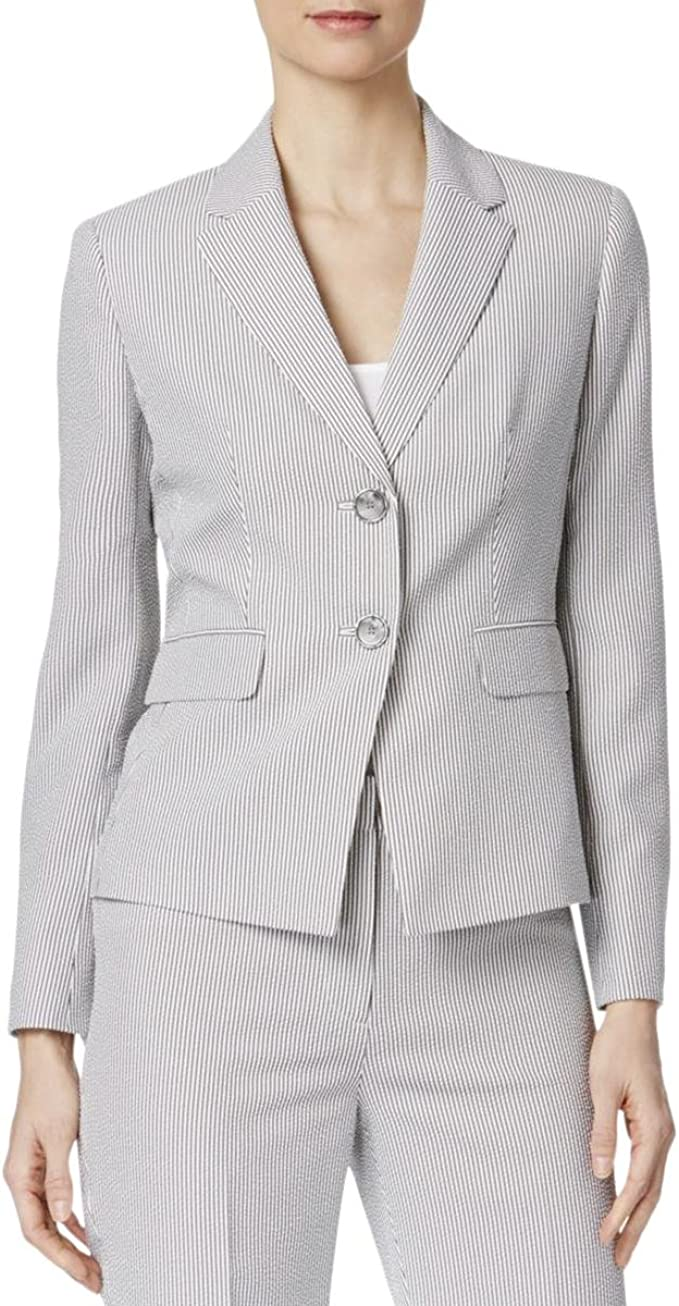 Amazon Com Kasper Women S Petite Size 2 Button Notch Collar