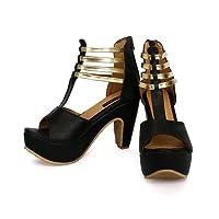 Funku Fashion Black High Heels