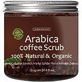 Arabica Coffee and Coconut Scrub Organic and Natural