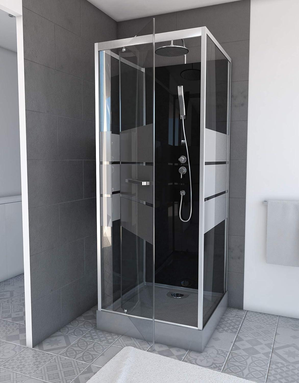 aurlane cab138 de cabina de ducha negro: Amazon.es: Bricolaje y herramientas