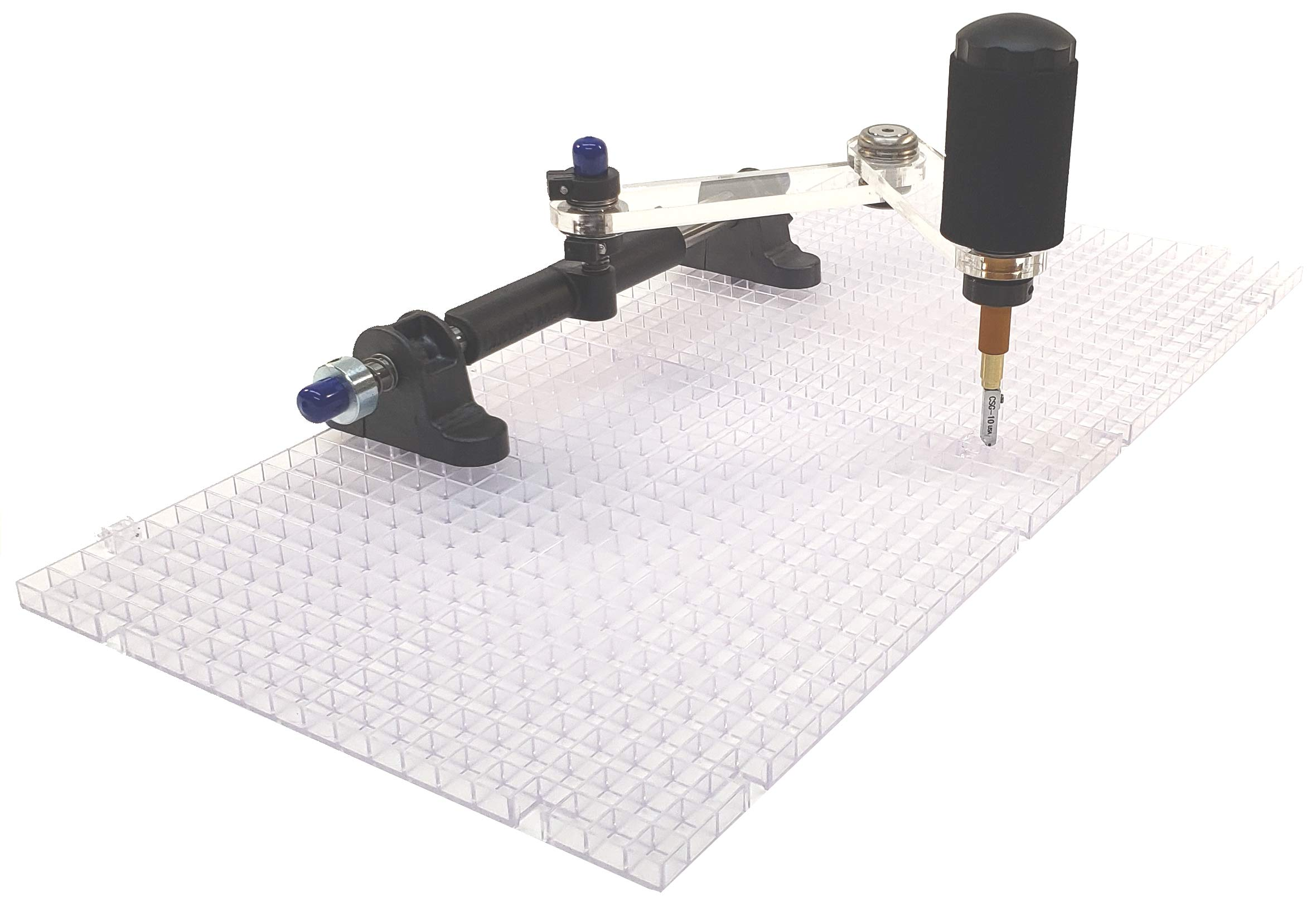 Creator's Cutter's Mate Mini E X T R A Glass Cutting System - Includes Two Waffle GRIDS - Born and Made in The USA by Creator's