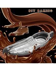 CTGVH Molde de pvc 3d forma de zapato de decoración de pasteles de chocolate molde pasta