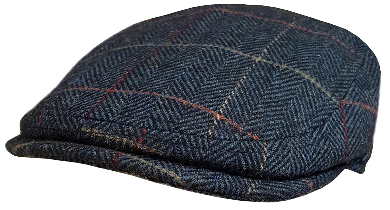 66b1e4cb1ad Major Mens or Boys Flat Cap New Baker Boy Hat Good Quality Wool newsboy  Peaked Cap (Large (58-59 cm)