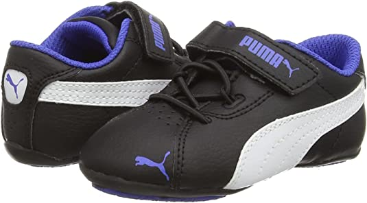 PUMA Janine Dance 2 V Inf, Baskets Basses Fille, Noir