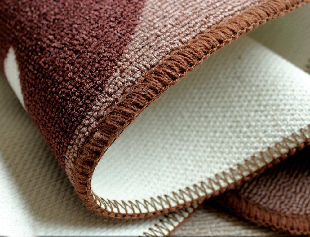 Carvapet 2 Piece Non-Slip Kitchen Mat Rubber Backing Doormat Runner Rug Set, Pots (19''x59''+19''x31'') by Carvapet (Image #6)