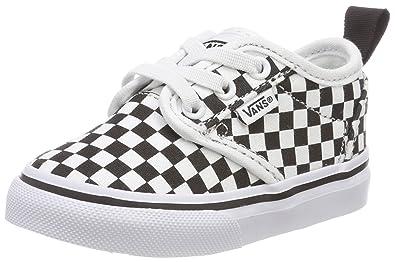Vans Unisex Baby Atwood Slip-on Sneaker, Elfenbein (Canvas), 23.5 EU