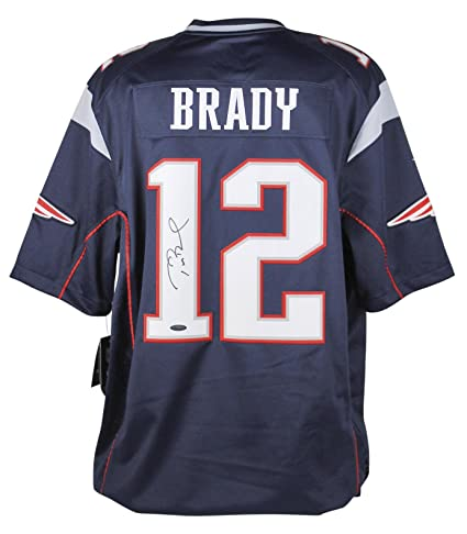 signed tom brady nfl jersey