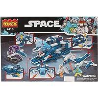 Planet of Toys Spaceship war Building Blocks Set for Kids, Boys & Girls -(303 Pcs )