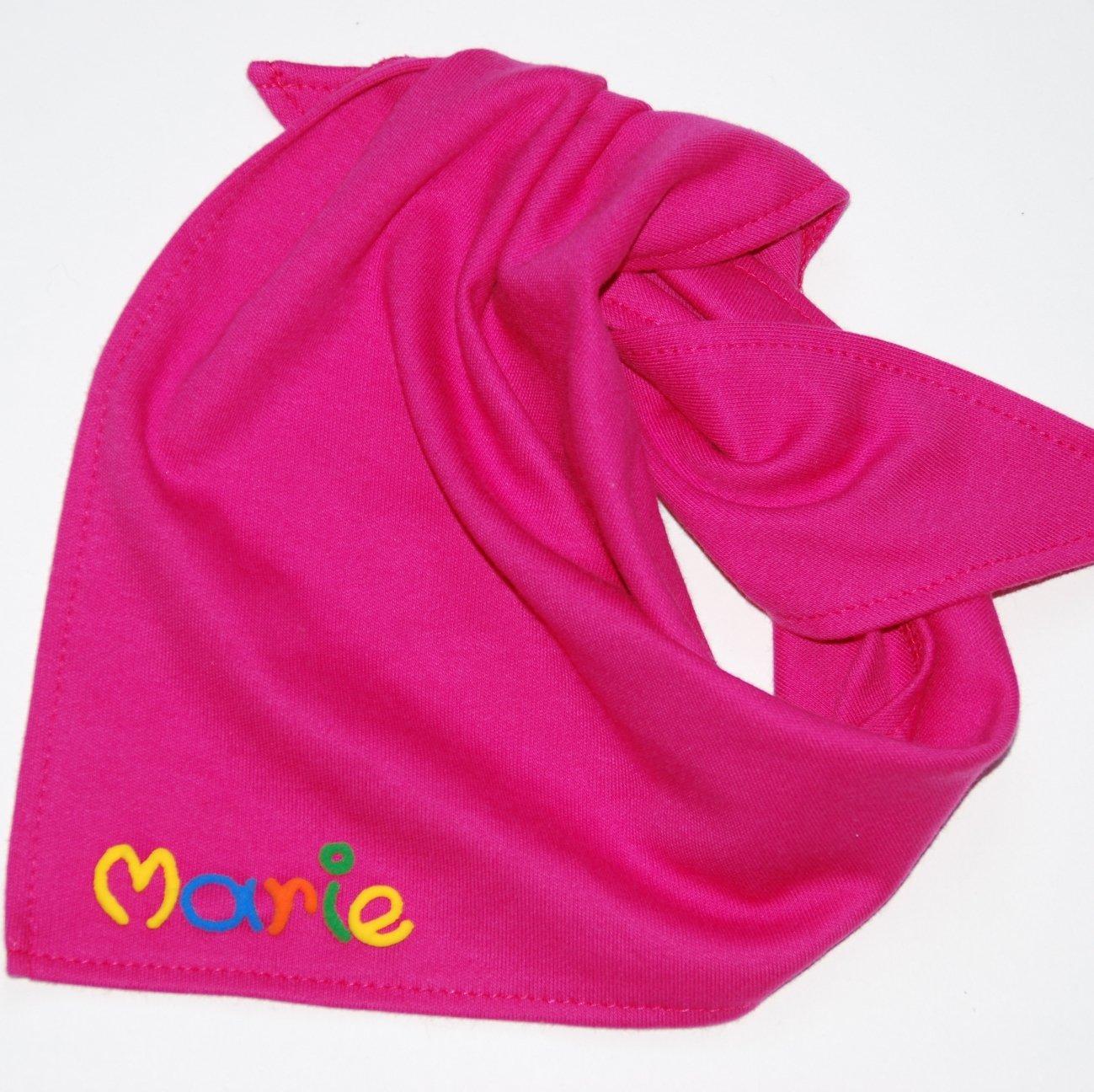 Halstuch mit Namen - Halstuch Baby in verschiedenen Farben - Geschenke mit Namen, Baby Taufgeschenk, Personalisiertes Babygeschenk Mein-Name