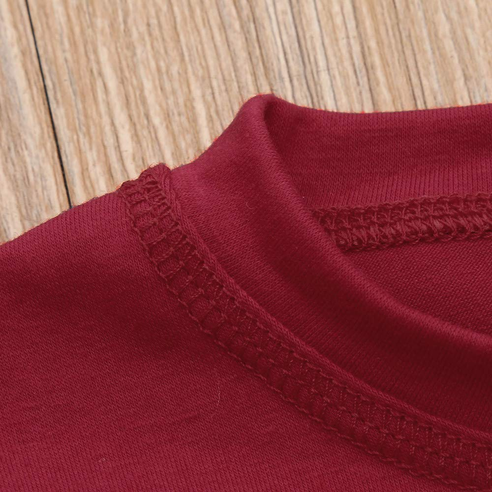 kaiCran Autumn Family Matching Pajamas Outfits Set Christmas Deer Tops and Plaid Pants Cotton Clothes