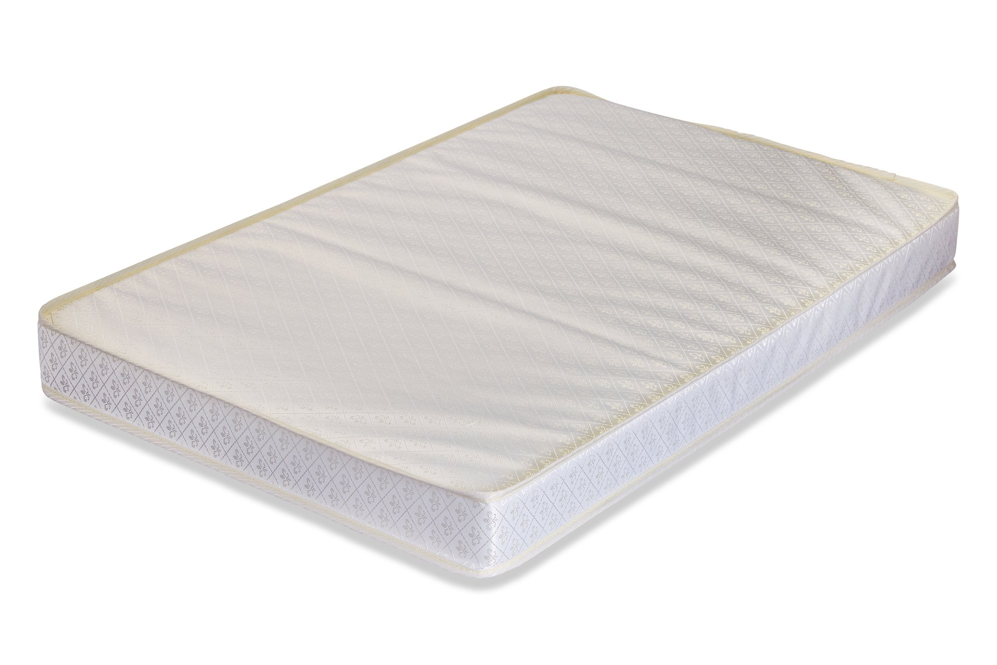 LA Baby 3'' Portable/Mini Crib Mattress with Organic Cotton Layer - Made in USA with Waterproof, Easy to Clean, Hypo-Allergenic, Anti-Microbial & Non-Toxic Cover, 24 x 38 - Made in USA by L A Baby