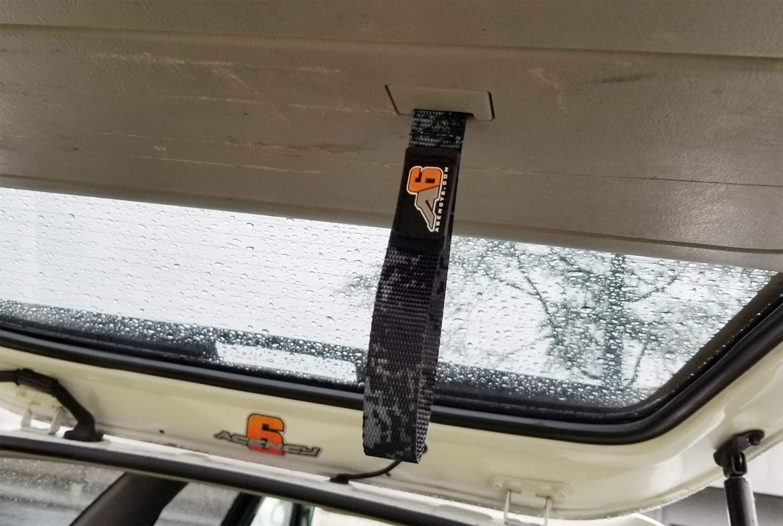 OEM FIT 3rd//4th GEN Rear LIFTGATE Hatch Pull Assist Strap Digital Grey CAMO Agency 6 Toyota 4RUNNER