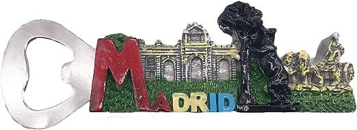 3D Madrid España Refrigerador Imán de Nevera Recuerdos ...