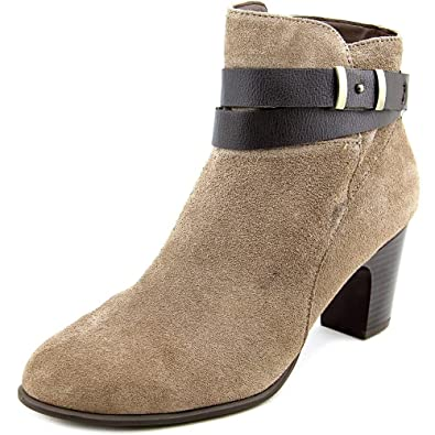 Womens Calae Suede Closed Toe Ankle Fashion Boots
