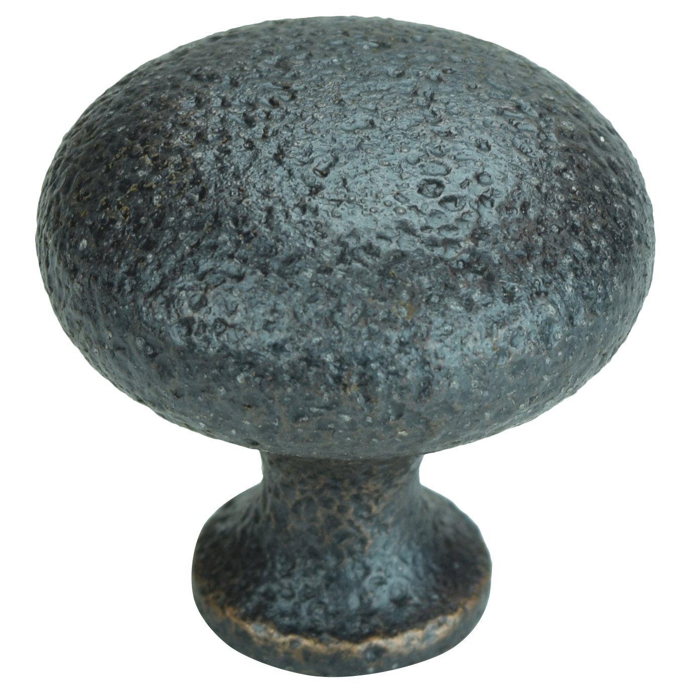 (Lot of 10) Rustic Hammered Oil Rubbed Bronze Cabinet Knobs Pulls C015ORB Ancient Treasures