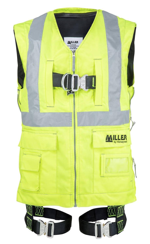 Viz gelb Honeywell 1032917/Miller DuraFlex-Fall-Schutz Gr/ö/ße 1 2/Schlaufen automatisch