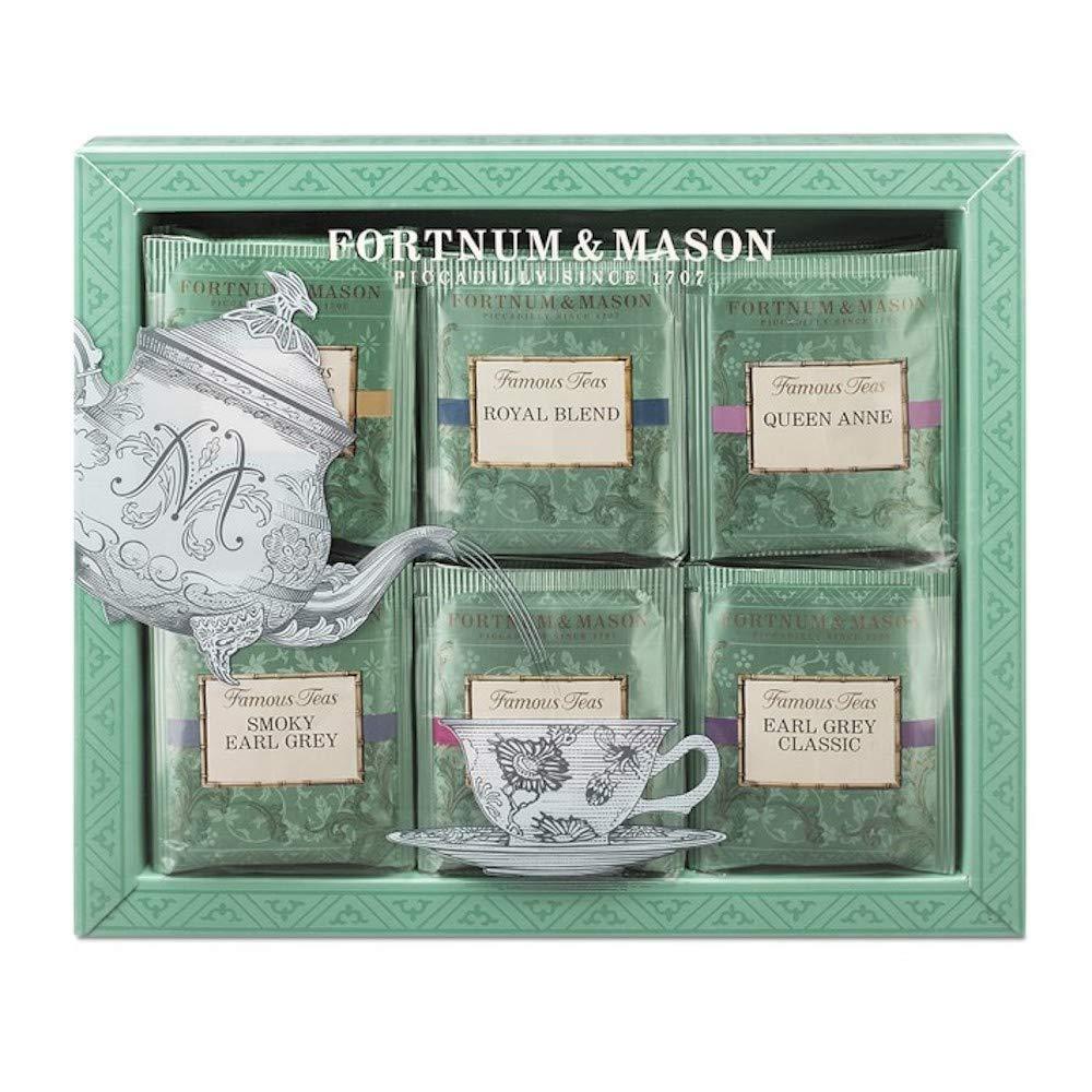 Fortnum & Mason British Tea, Fortnum's Famous Tea Bag Selection, 60 Count Tea bags (1 Pack) NEW EDITION - USA Stock by Fortnum & Mason London