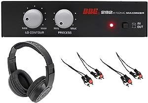 BBE 282IR Desktop Sonic Maximizer w/RCA Inputs/Outputs+Headphones+RCA Cables