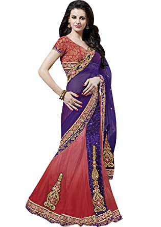 b0f0f9941e1ed Csebazaar Women Indian Pakistani Bollywood Designer Wedding Party Wear Saree  Sari  Amazon.co.uk  Clothing