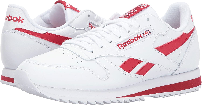 033864160f24f2 Reebok Men s Cl Leather Ripple Low Bp Fashion Sneaker