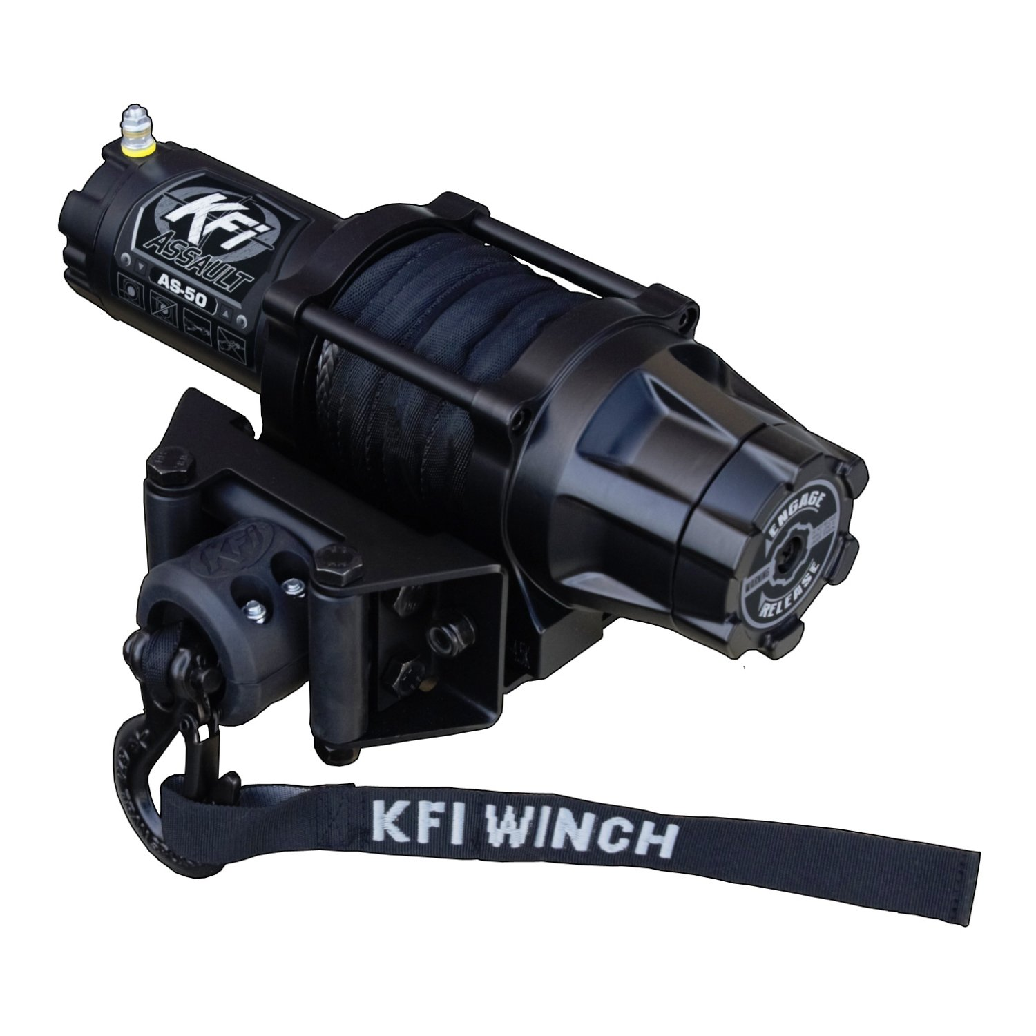 KFI Products AS-50 5000lb Assault Winch (Standard) by KFI Products