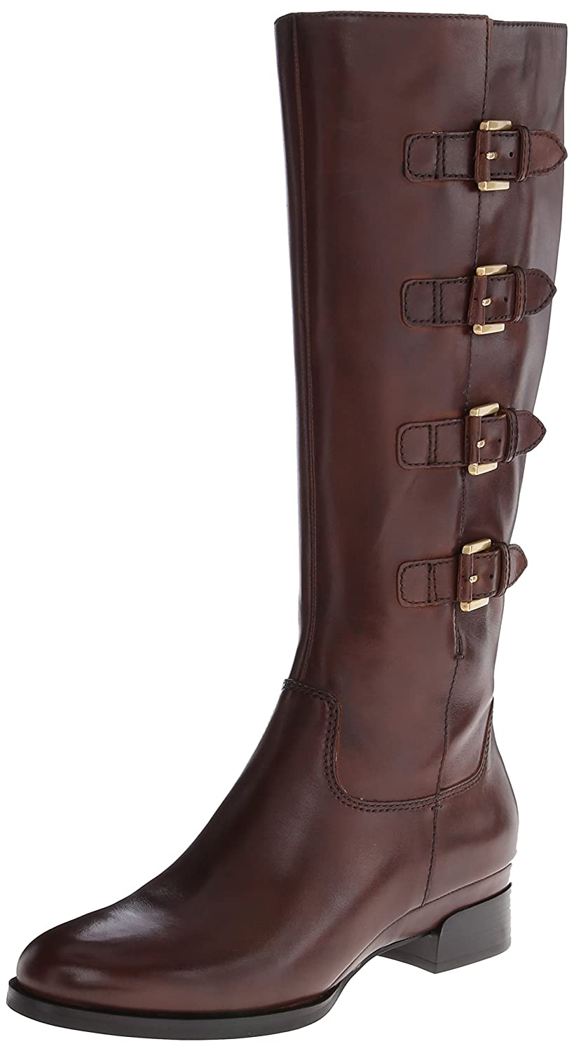 Deluxe Adult Costumes - Women's Sullivan Buckle Straps Brown Leather Boots