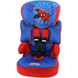 MyCarSit Disney Spiderman High Back Booster Car Seat, Spiderman