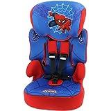 Nania Beline Group 1/2/3 Highback Booster Car Seat, Disney Spiderman