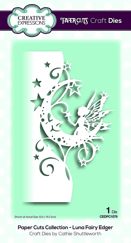 Creative Expressions Paper Cuts Edger Craft Dies-Luna Fairy