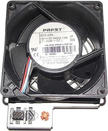 ebmPAPST 929238mm 3212J//2N 12V 7.6W SN:97P3153 EC:H63954 Server Fan