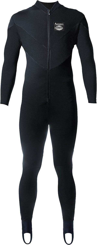 Aeroskin Full Body Suit Spine/Kidney with Kevlar Knee Pads (Black, Medium)